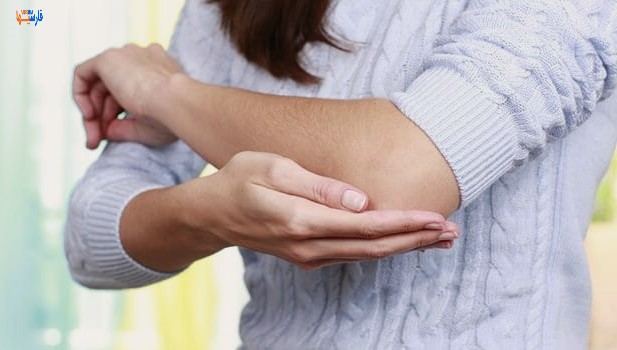 درمان خانگی آرنج تیره