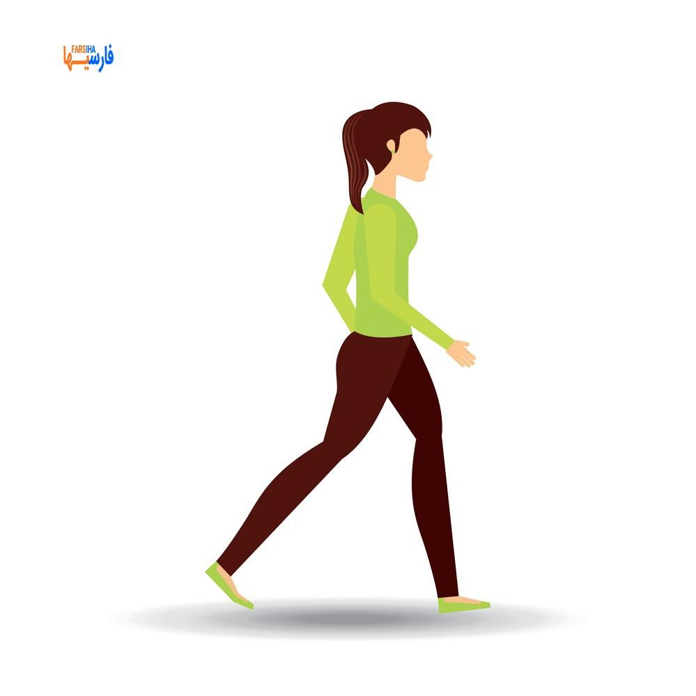 صحیح راه رفتن