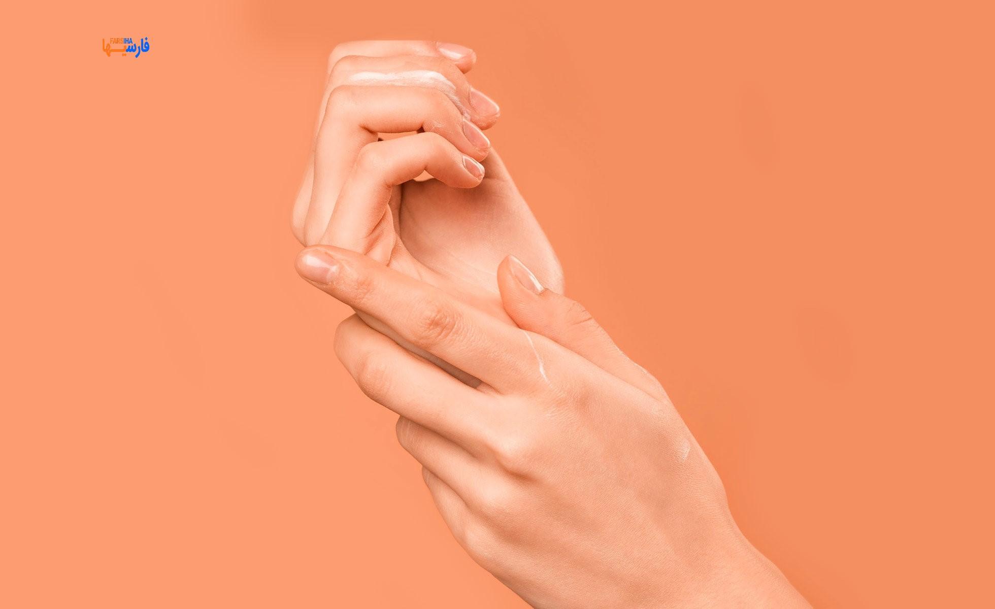 خشکی پوست دست