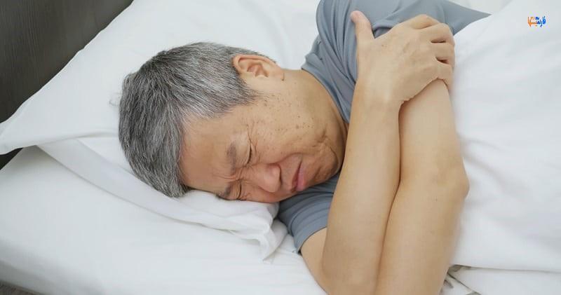 علت خواب رفتن اعضای بدن